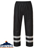 Portwest Iona Lite Hi-Vis Waterproof Trousers - S481