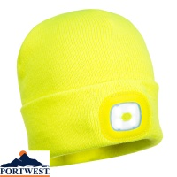 Portwest Rechargable LED Junior Beanie - B027