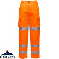 Portwest Ladies Hi-Vis Workwear Trousers - LW71