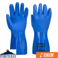 Portwest Marine Ultra PVC Chemical Protection Gauntlet - A881