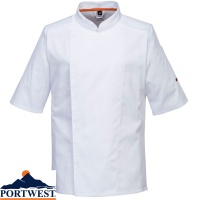 Portwest MeshAir Pro Chefs / Catering Jacket S/S - C738