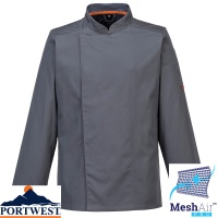 Portwest MeshAir Lightweight Pro Chef Jacket - C838