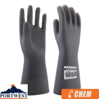 Portwest Neoprene Chemical Protection Gauntlet - A820