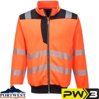Portwest PW3 Hi-Vis Workwear Sweatshirt - PW370
