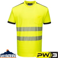 Portwest PW3 Hi-Vis T-Shirt - T181
