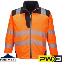 Portwest PW3 Vision Hi-Vis Softshell Jacket - T402