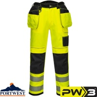 Portwest PW3 Vision Hi-Vis Trousers - T501