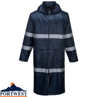 Portwest Classic Iona Waterproof Rain Coat - F438