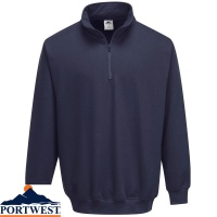 Portwest Sorrento Zip Neck Sweatshirt - B309