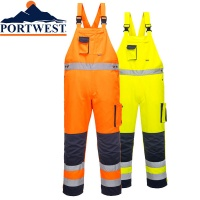 Portwest Tx12 Texo Bib And Brace With Kneepad Pockets Black 2xl Clothing, Shoes & Accessories