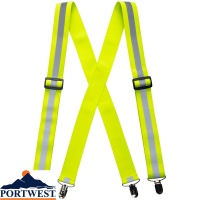 Portwest Hi-Vis Trouser Braces - HV56