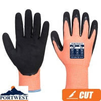 Portwest Vis-Tex Winter HR Nitrile Cut Resistant Glove - A646