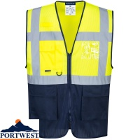 Portwest Hi-Vis Two Tone MeshAir Executive Vest - C377