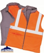 Portwest Reversible Body Warmer RT44