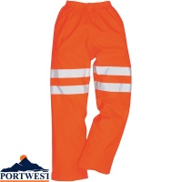 Portwest Sealtex Ultra Waterproof Breathable Hi-Vis Trousers - RT51