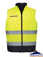 Hi-Vis Two Tone Bodywarmer - S267