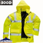 Hi Vis Waterproof Breathable Jacket - S461