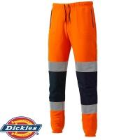 Mens Dickies Workwear Joggers Grey Bottoms TR2008