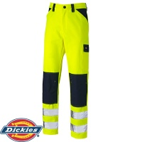Dickies Everyday Hi Vis Trousers - SA247