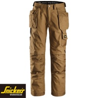 Snickers Canvas+ Trousers with Holster Pockets - 3214