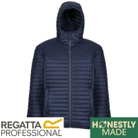 Regatta Honestly Made Hooded Jacket 100% Recycled Thermal Water Repellent  - TRA423