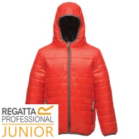 Regatta Kids Stormforce Baffle Thermal Jacket Water Repellent - TRA454