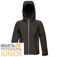 Regatta Kids Octagon 3 Layer Softshell Waterproof Wind Resistant - TRA622