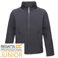 Regatta Kids Classmate Softshell Jacket Water Repellent Wind Resistant - TRA683