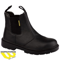 WorkForce Black Safety Dealer Boots - WF17P