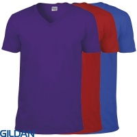 Gildan Softstyle™ V-Neck T-Shirt - GD010