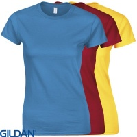 Gildan Womans Ringspun T-Shirt - GD072