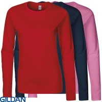 Gildan Softstyle™ Womans Long Sleeve T-shirt - GD076