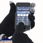 Portwest Touchscreen Knit Glove - GL16