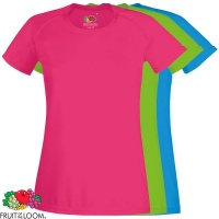 Fruit of the Loom Ladies Performance Tee - SS016